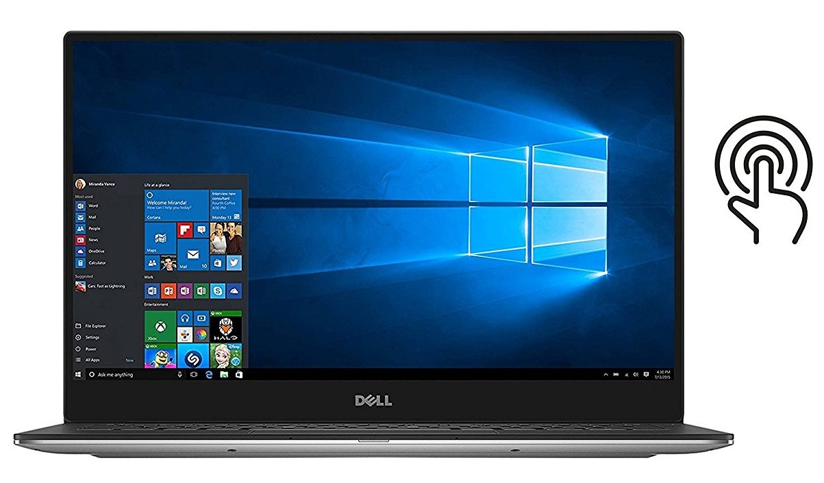 1 Dell Xps 13 9343 Touchscreen Computer